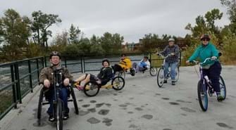 Group Ride on the Boise River Greenbelt