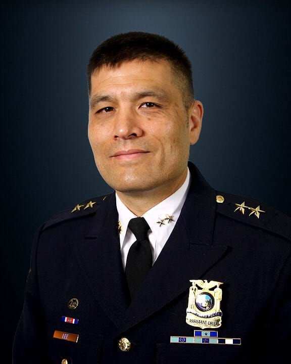 Photo of incoming Boise Police Chief Ryan Lee