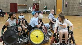 Idaho Youth Adaptive Sports Camp - Wheelchair Rugby