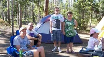 Tent Camping Trip