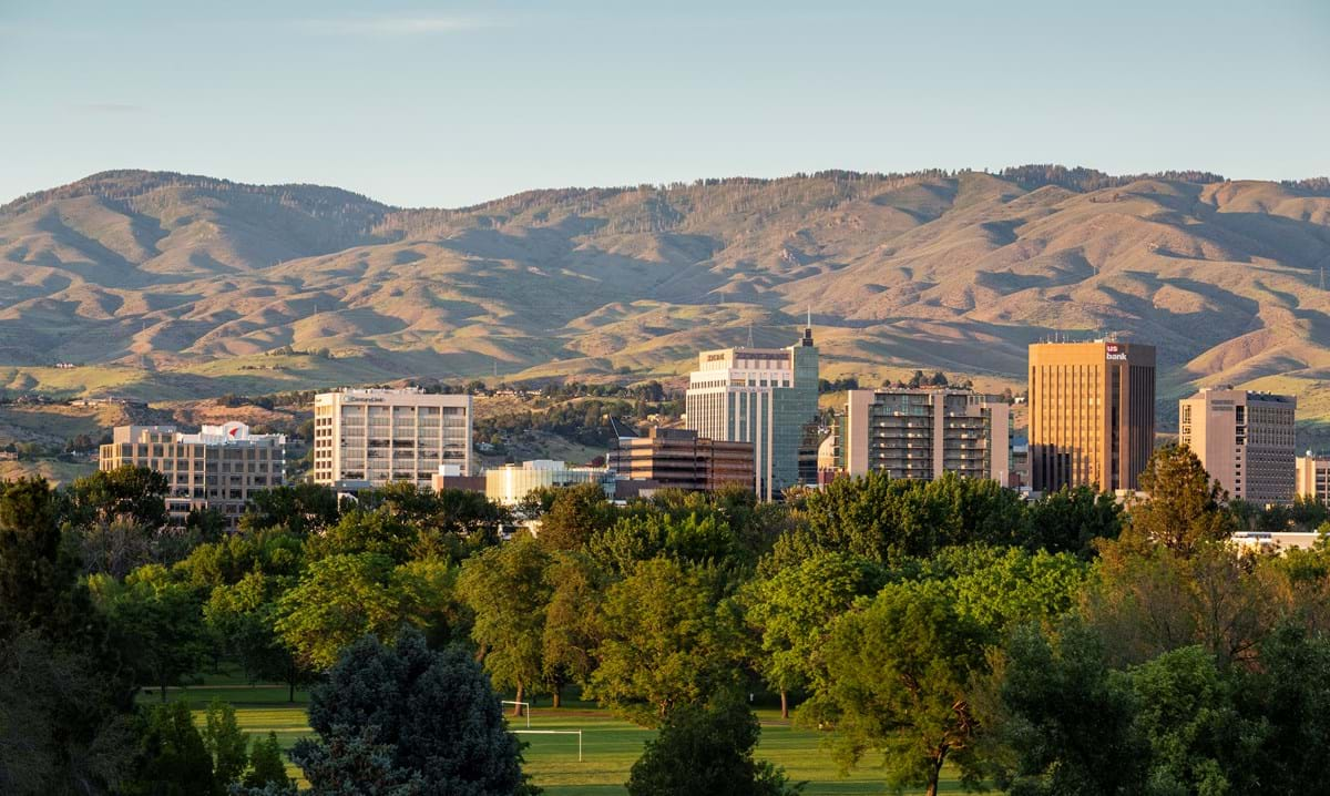 Downtown Boise skyline