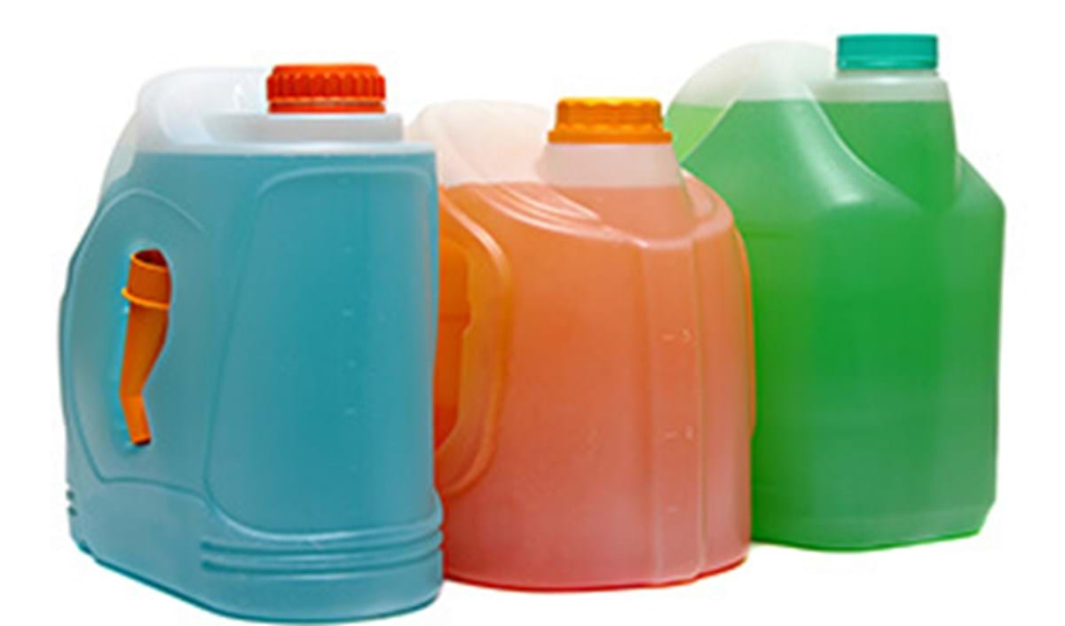 Large plastic jugs